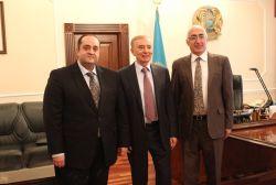 Նախարարի այցը Ղազախստանի Հանրապետություն շարունակվում է