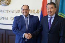 ՀՀ արդարադատության նախարարը հանդիպել է Ղազախստանի Հանրապետության գերագույն դատարանի նախագահին