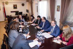 Արդարադատության նախարարն ընդունել է Եվրոպայի խորհրդի Կոռուպցիայի դեմ պայքարի երկրների խմբի պատվիրակությանը