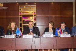 Նախարարի ելույթը «Առողջապահության և մարդու իրավունքների պաշտպանության ամրապնդումը Հայաստանում» ծրագրի պաշտոնական մեկնարկին