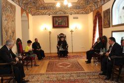 Վրաստանի պատվիրակության ղեկավարաները հանդիպել են Ամենայան Հայոց Կաթողիկոսին